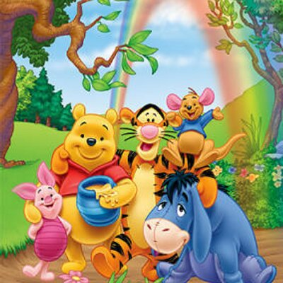 Maxi Posters Winnie the Pooh Group hug 71606 400x400